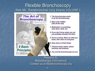 Flexible Bronchoscopy Part 4A: Transbronchial lung biopsy VOLUME 1