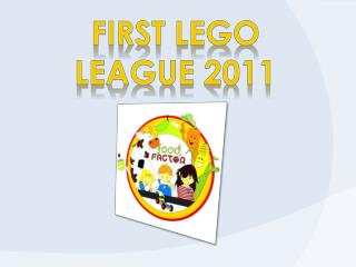 First  Lego League 2011