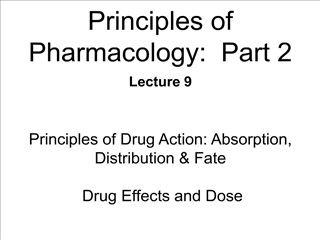 Principles of Pharmacology: Part 2