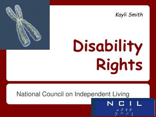 Kayli  Smith Disability Rights