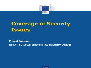 Coverage  of Security Issues