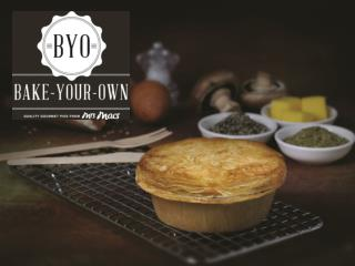 Mrs Mac's Bake-Your-Own Gourmet Range  This nation has a love affair with the freshly baked pie.