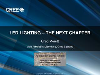 LED lighting – the next chapter