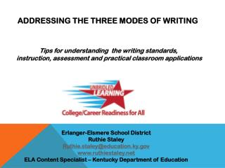 Addressing The Three Modes of Writing
