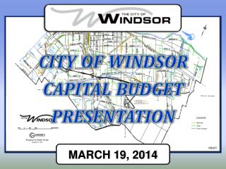 city of  windsor capital budget presentation