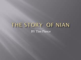 The story  of  Nian