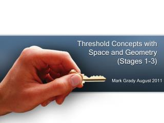 Threshold Concepts with  Space and Geometry (Stages 1-3)