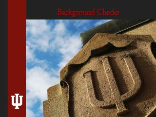 Background  Checks