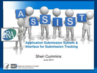 Application Submission System &  Interface for Submission Tracking