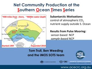 Net Community Production at the  S outhern  O cean  T imes  S eries