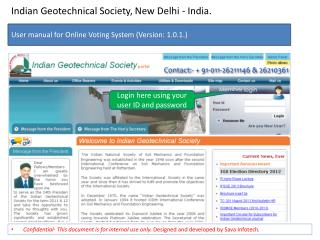 Indian Geotechnical Society, New Delhi - India.