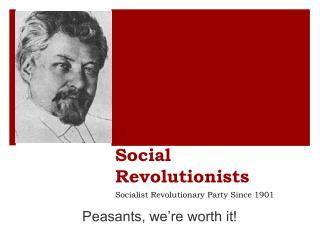 Social Revolutionists