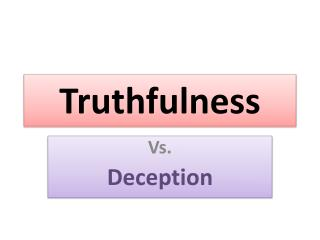 Truthfulness