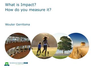 What is Impact? How do you measure it?