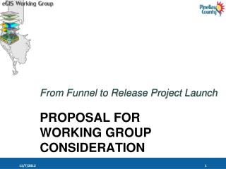 PROPOSAL FOR  WORKING GROUP CONSIDERATION