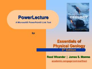 PowerLecture A Microsoft® PowerPoint® Link Tool for