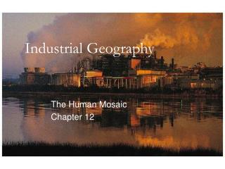 Industrial Geography