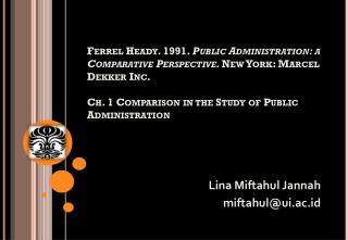 Lina Miftahul Jannah miftahul@ui.ac.id