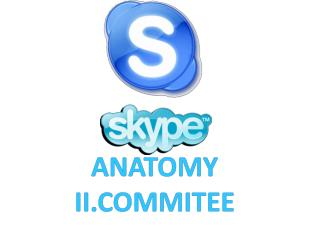 ANATOMY II.COMMITEE