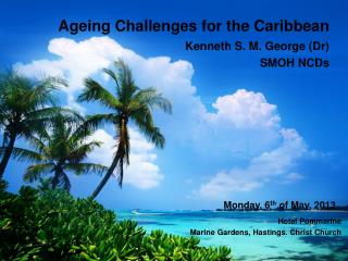 Ageing Challenges for the Caribbean