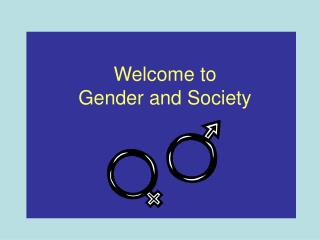 Welcome to  Gender and Society