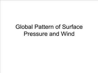 Global Pattern of Surface Pressure and Wind