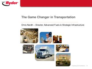 The Game Changer in Transportation