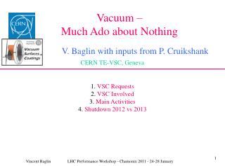 Vacuum –  Much Ado about Nothing