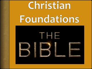 Christian Foundations