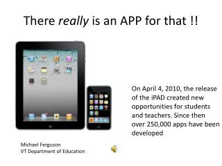 There really is an APP for that !!
