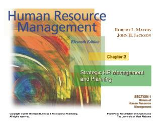 Strategic HR Management and Planning