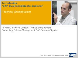 Introducing  'SAP BusinessObjects Explorer'  Technical Considerations