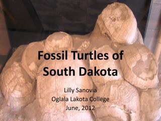 Fossil Turtles of  South Dakota
