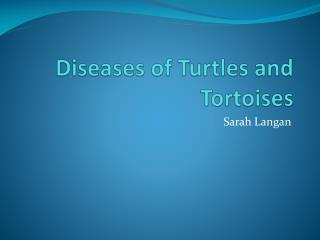 Diseases of Turtles and Tortoises
