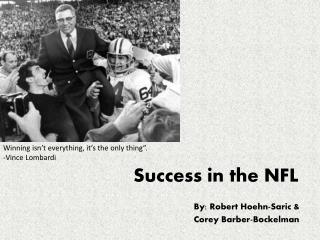 Success in the NFL
