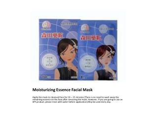 Moisturizing Essence Facial Mask