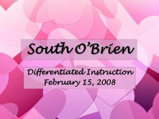 South O'Brien