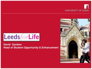 David  Gardner Head of Student Opportunity & Enhancement