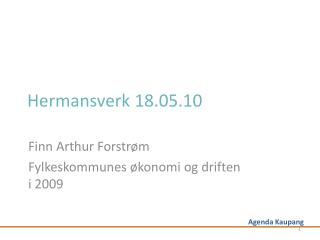 Hermansverk 18.05.10