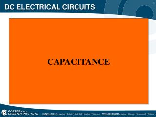 DC ELECTRICAL CIRCUITS