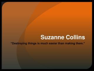 Suzanne Collins
