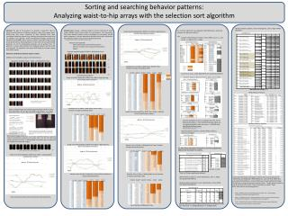 Sorting and searching behavior patterns: