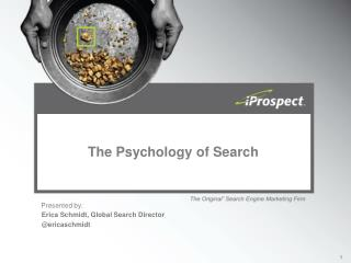 The Psychology of Search