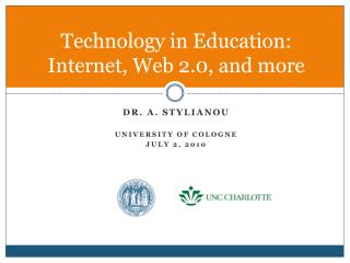 Technology in Education: Internet, Web 2.0, and more