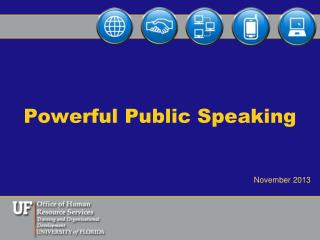 Powerful Public Speaking