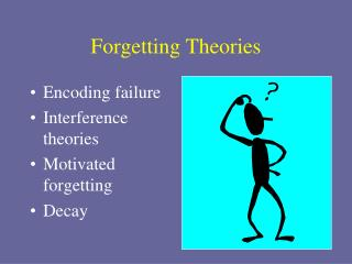 Forgetting Theories