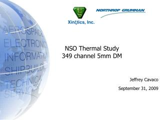 NSO Thermal Study 349 channel 5mm DM