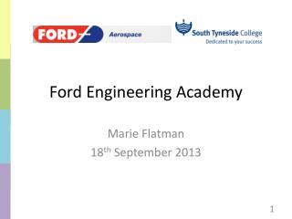 Ford  Engineering  Academy