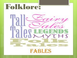 Folklore: