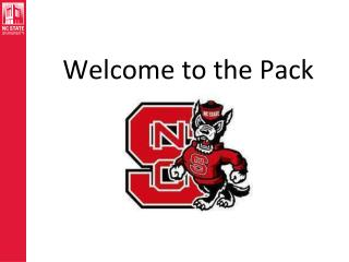 Welcome to the Pack